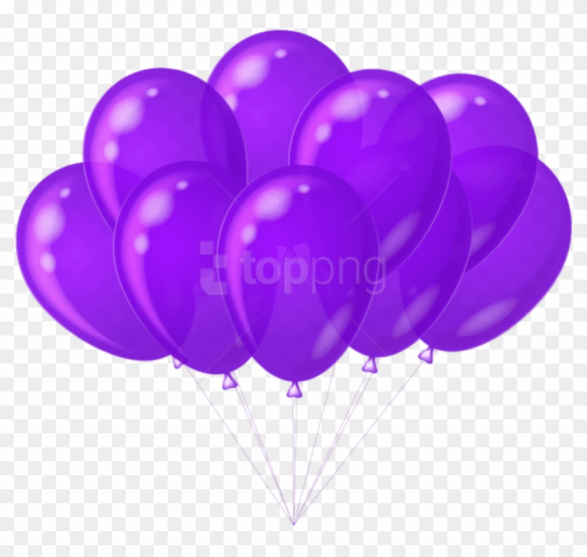Lavender and rose gold balloon background clipart picture transparent stock Free Png Download Transparent Purple Balloons Png Images - Purple ... picture transparent stock