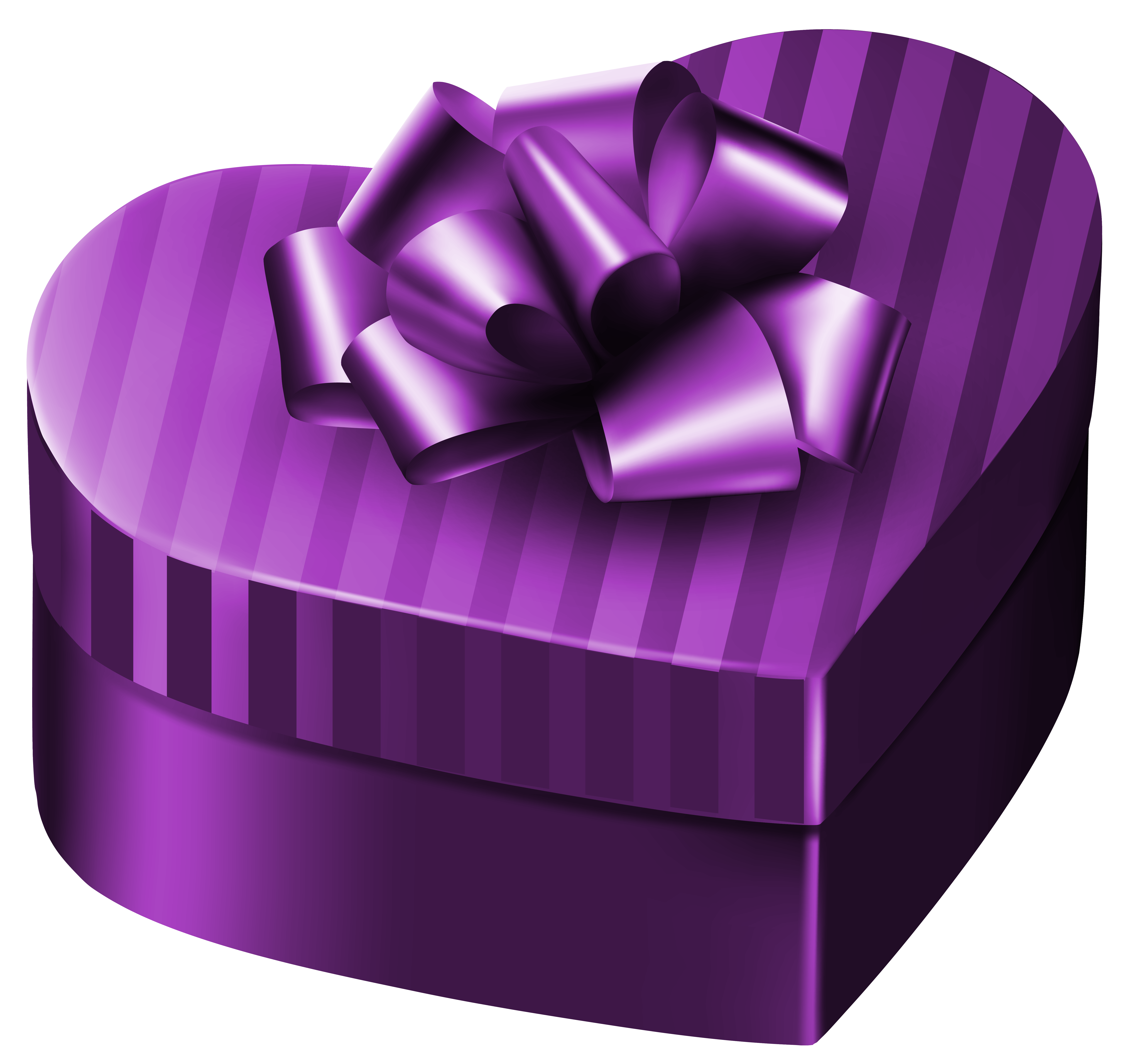 Lavender heart clipart graphic royalty free Purple Luxury Gift Box Heart PNG Clipart Image | Gallery ... graphic royalty free