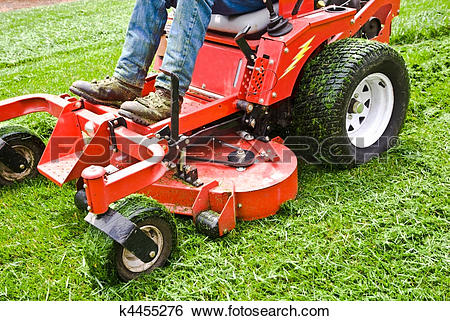 Lawn care stock clipart clipart royalty free library Stock Images of Lawn Care Riding Mower k4455276 - Search Stock ... clipart royalty free library