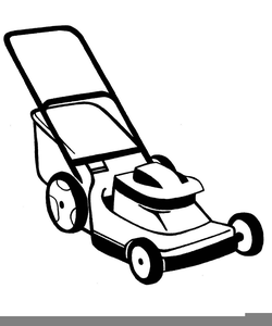 Lawn mower pictures clipart graphic black and white stock Cartoon Lawn Mower Clipart Free | Free Images at Clker.com - vector ... graphic black and white stock