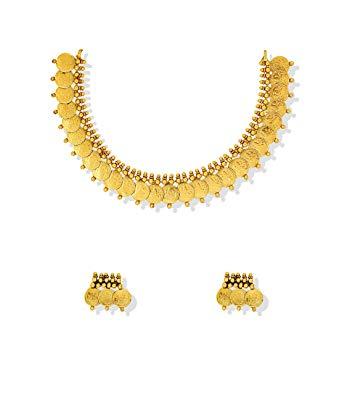 Laxmi haar clipart svg free stock Buy Zaveri Pearls Jewellery Set for Women (Golden) (ZPFK5219 ... svg free stock