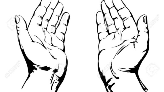 Laying on of hands clipart picture black and white download Praying Hands Pictures | Free download best Praying Hands ... picture black and white download
