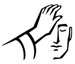 Laying on of hands clipart svg freeuse stock Laying of the hands is significant because it represents ... svg freeuse stock