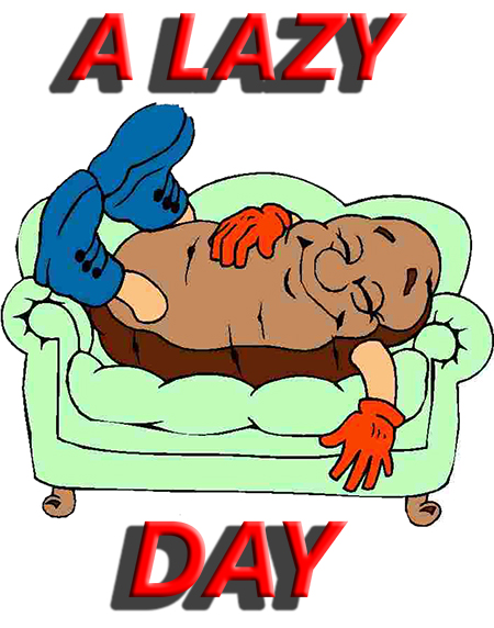 Lazy day clipart vector download Lazy Day Clipart vector download