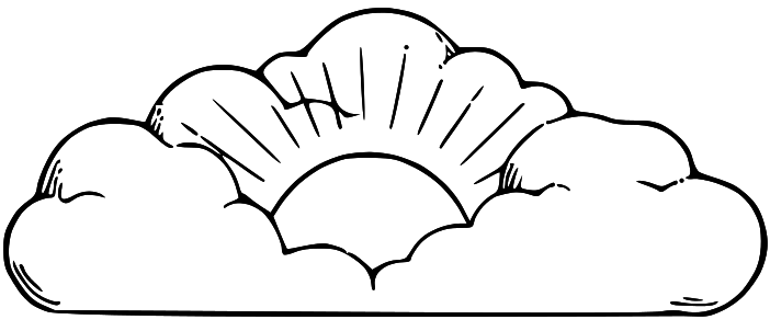 Lds black and white clipart of three witnesses graphic stock sun%20and%20clouds%20drawing | Witness cloud | Cloud drawing ... graphic stock