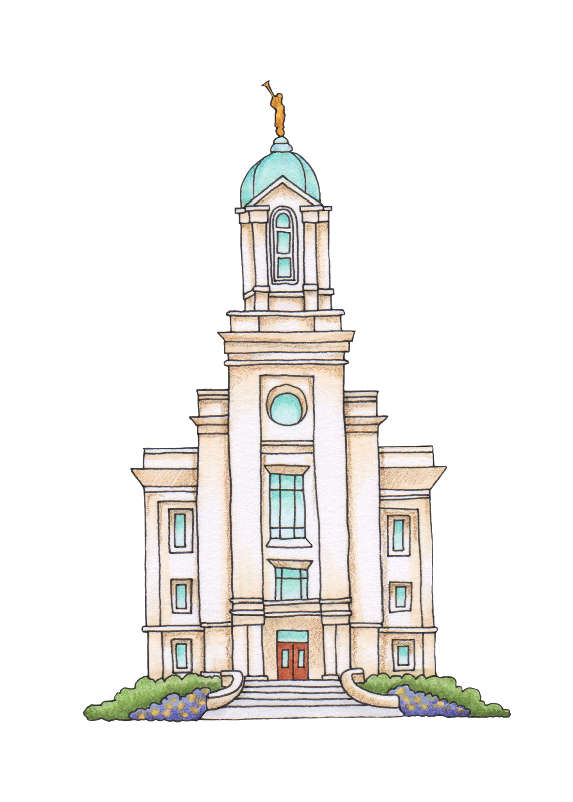 Lds church clipart free image black and white Lds church clipart clipart images gallery for free download ... image black and white