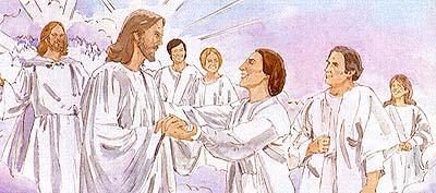 Lds clipart celestial kingdom image royalty free stock The Three Kingdoms of Heaven - Friend Feb. 1986 - friend image royalty free stock
