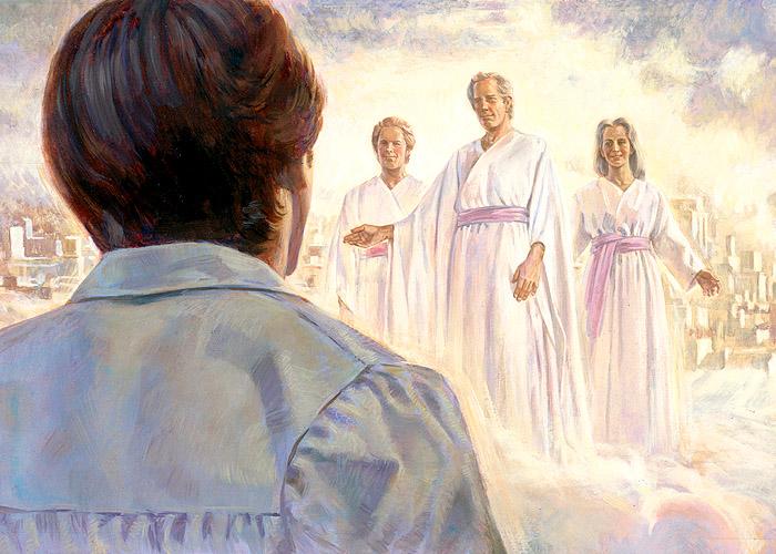 Lds clipart celestial kingdom jpg stock The Eternal Family | Chad's Random Musings jpg stock