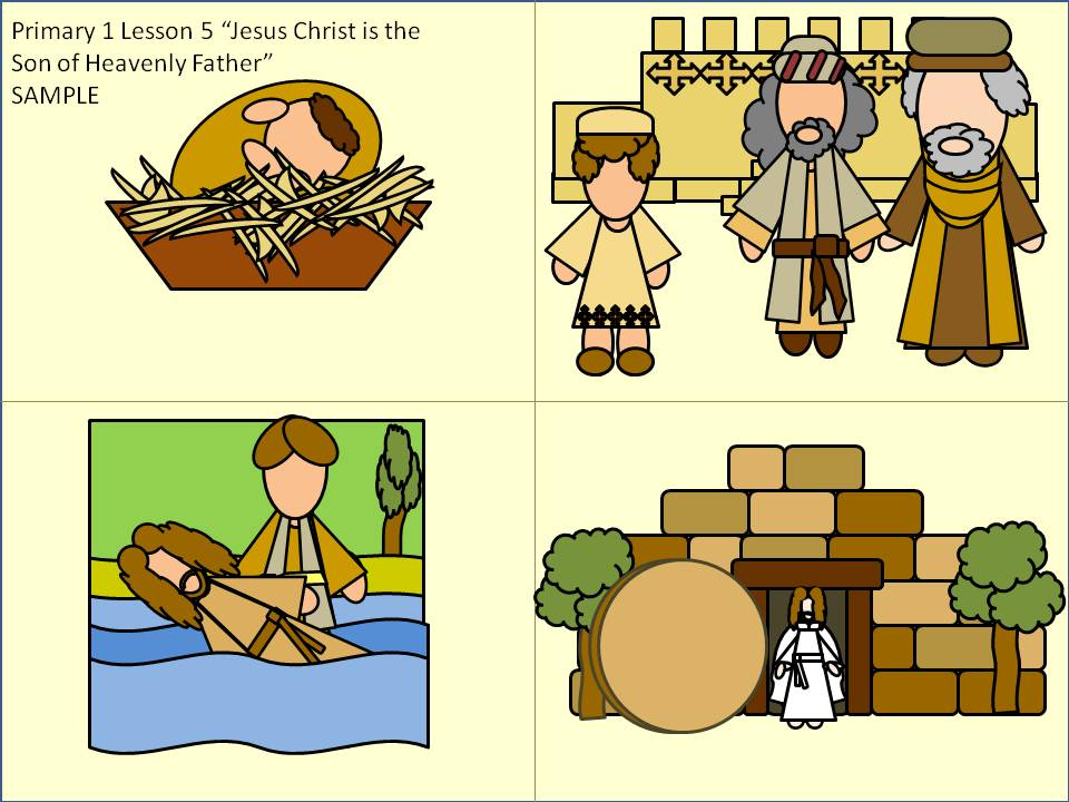 "Lds clipart games of families and heavenly father svg freeuse library Primary 1 Lesson 5 ""Jesus Christ is the Son of Heavenly ... svg freeuse library"