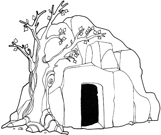 Lds clipart mary jesus tomb freeuse download Jesus rising from the tomb clipart lds - ClipartFest freeuse download