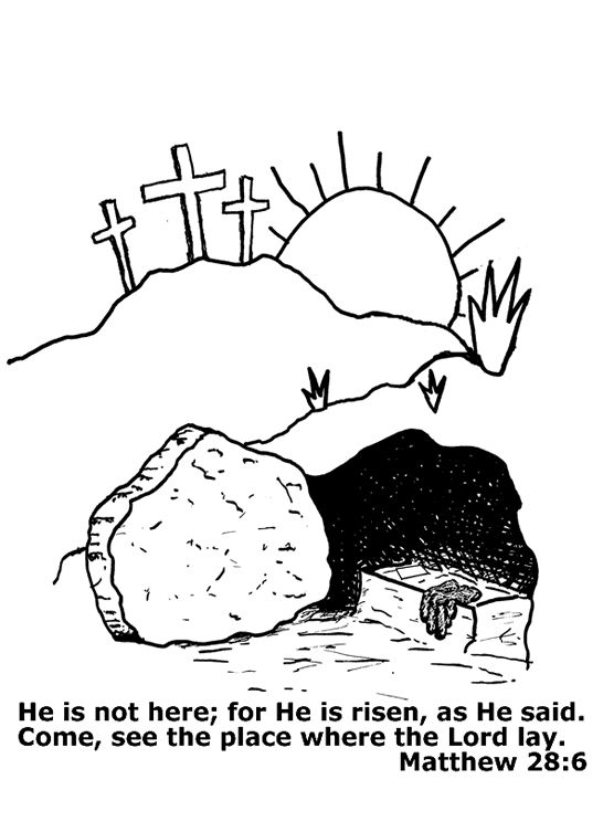 Lds clipart mary jesus tomb jpg royalty free stock Lds clipart risen savior open tomb black and white - ClipartFest jpg royalty free stock