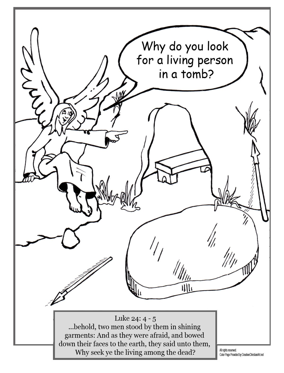cpt4tomb.gif (952×704) | Jesus tomb, Easter coloring pages ... | 1575x1200