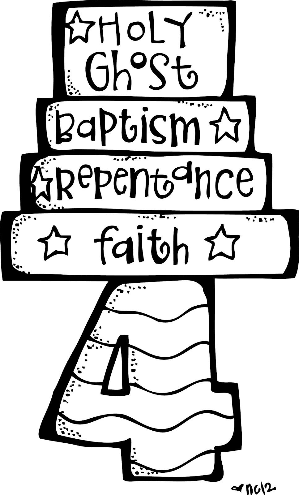 Lds faith clipart jpg freeuse library Melonheadz LDS illustrating: Articles of Faith Illustrations ... jpg freeuse library