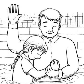 Lds jesus baptism clipart clipart 50+ Lds Baptism Clipart   ClipartLook clipart