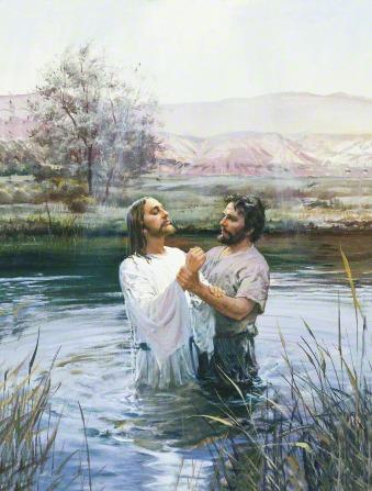 Lds jesus baptism clipart picture freeuse stock John the Baptist Baptizing Jesus (John Baptizing Jesus) picture freeuse stock