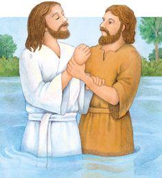 Lds jesus baptism clipart banner freeuse stock 55 Best Jesus - Baptised images in 2019   Jesus baptised ... banner freeuse stock