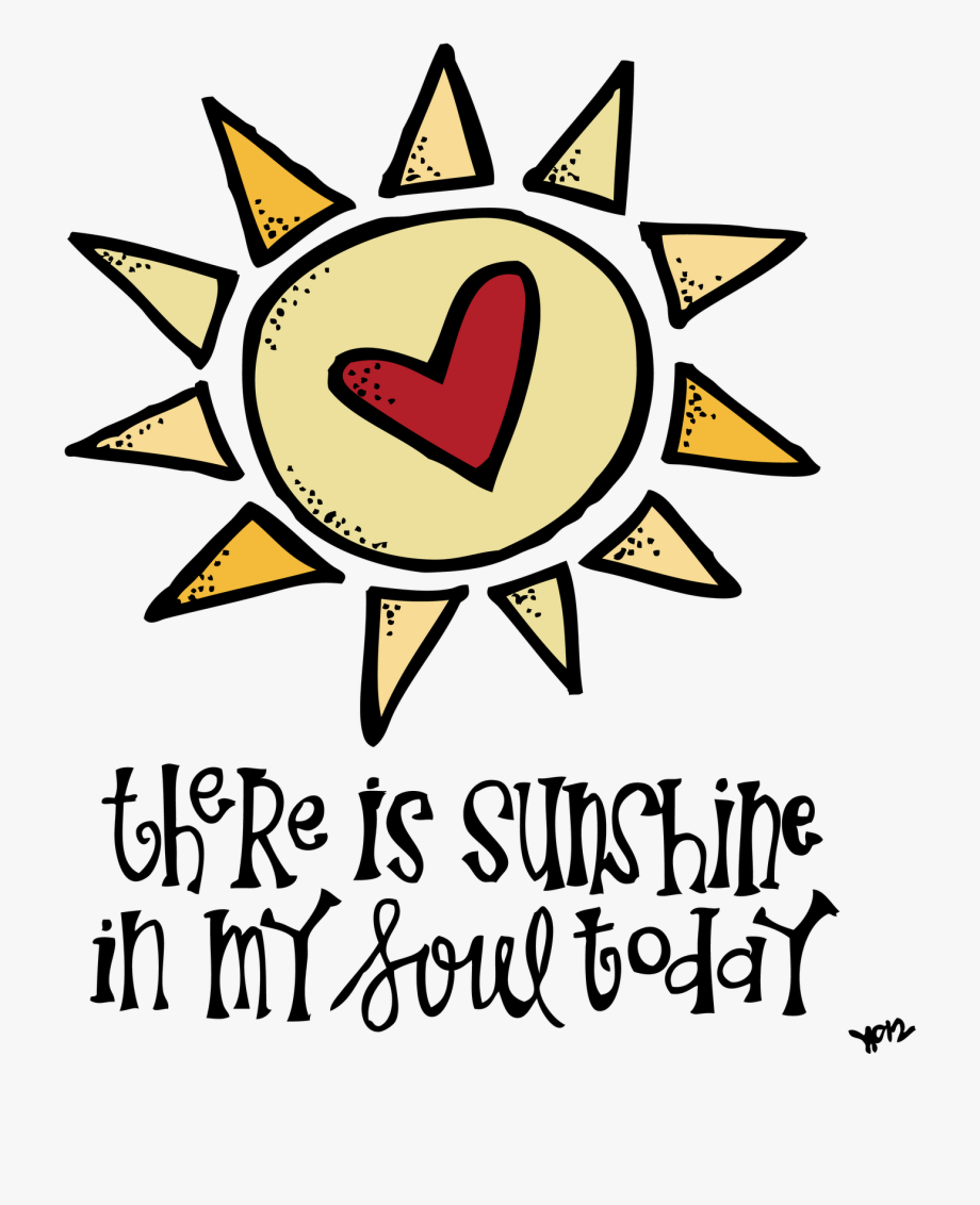 Lds sunshine clipart banner black and white Melonheadz Lds Illustrating Sunshine In My Soul - My Summer ... banner black and white