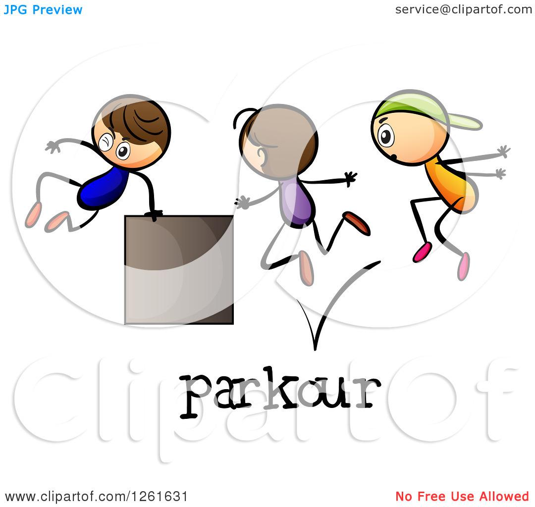 Le clipart graphic free library Le parkour clipart - ClipartFest graphic free library