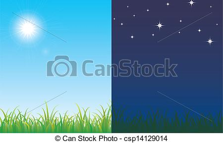 Le jour clipart graphic library download Night scene Illustrations and Clipart. 14,902 Night scene royalty ... graphic library download