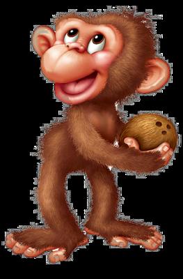 Le singe clipart clipart library stock La guenon, le singe et la noix - Blog du PRASMEL clipart library stock