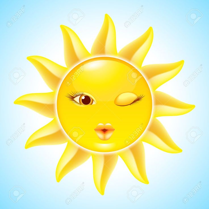 Le soleil clipart vector library stock 17 Best images about emojis suns on Pinterest | Smiley faces, Sun ... vector library stock