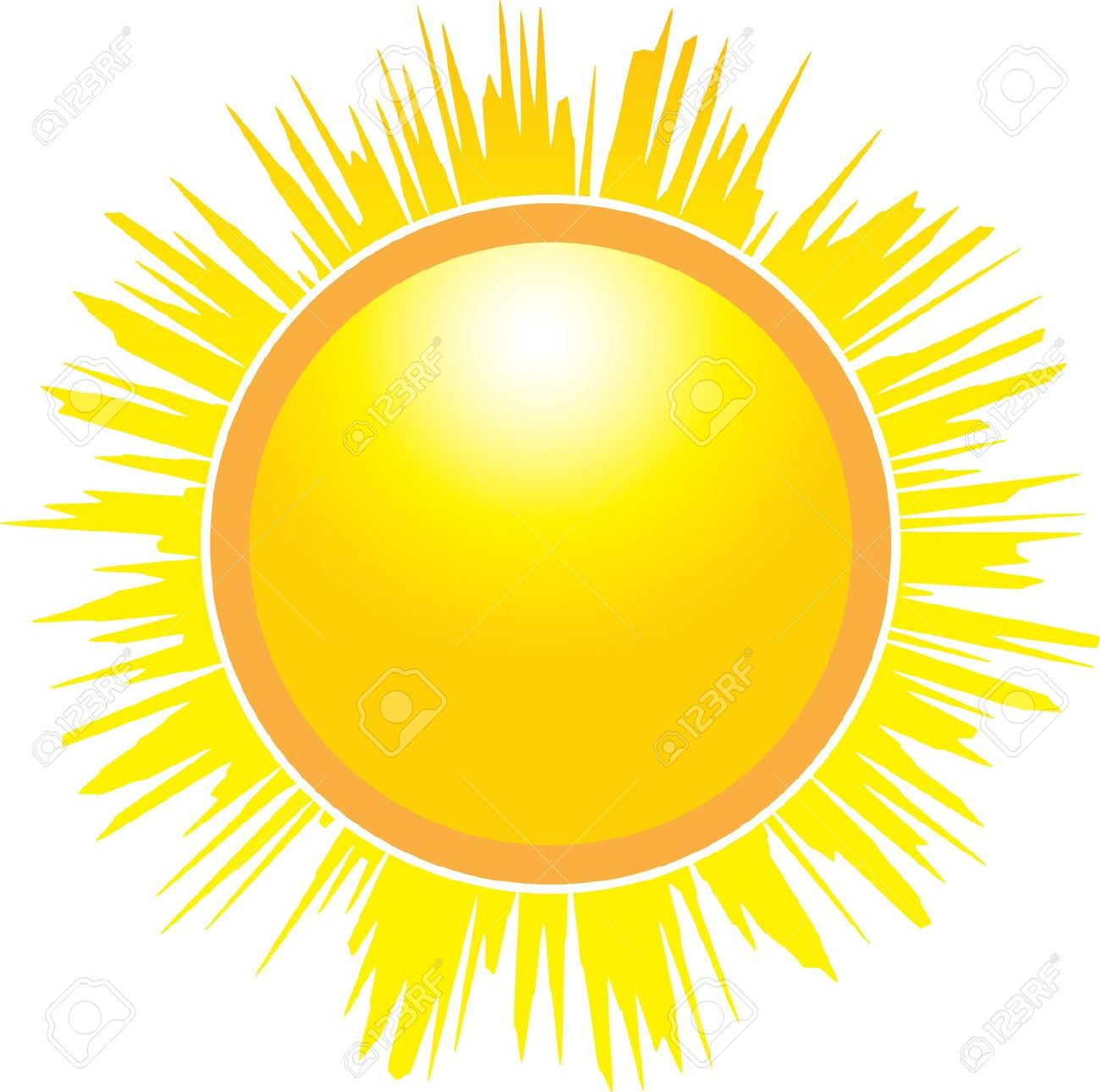 Le soleil clipart clipart library download Sun Isolated Cliparts, Stock Vector And Royalty Free Sun Isolated ... clipart library download
