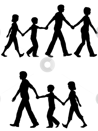 Lead clipart jpg library parents lead kids on walk | Clipart Panda - Free Clipart Images jpg library
