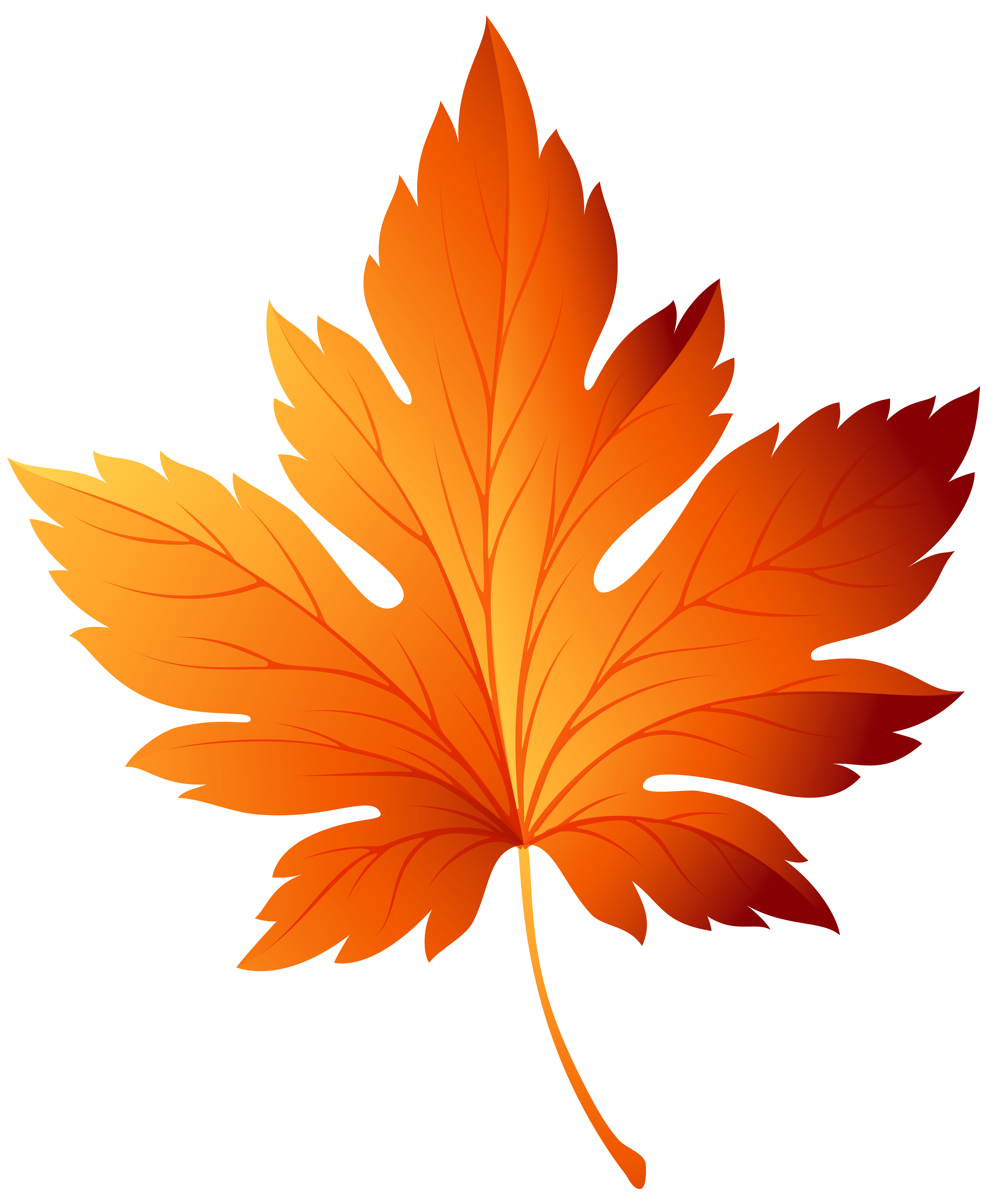 Leaf clipart color image royalty free library Autumn leaf color Clip art - autumn leaves png download - 5839*7000 ... image royalty free library