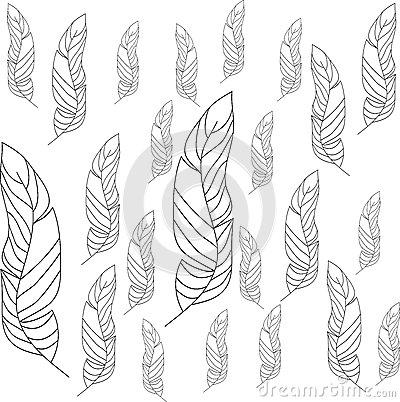 Leaf clipart outline differnt sizes clip art Different Sizes Shapes Leaf Stock Illustrations – 10 Different ... clip art