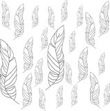 Leaf clipart outline differnt sizes png freeuse Different Sizes Shapes Leaf Stock Illustrations – 10 Different ... png freeuse