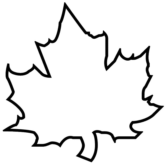 Leaf patterns clipart png black and white stock Maple Leaf Patterns Template - ClipArt Best png black and white stock