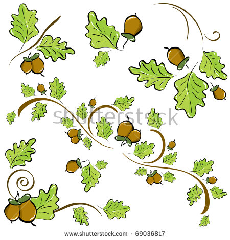 Leaf patterns clipart clipart black and white download Oak leaf clip art free free vector download (213,082 Free vector ... clipart black and white download