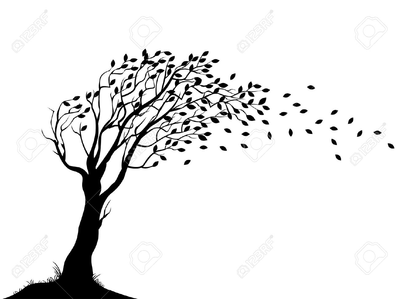 Leaf row silhouette clipart picture stock Leaf row silhouette clipart - ClipartFest picture stock