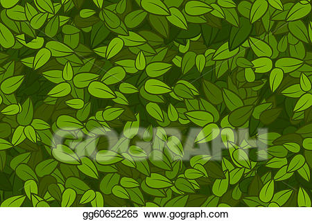 Leaf texture clipart clipart Vector Clipart - Green leaves seamless texture. Vector Illustration ... clipart