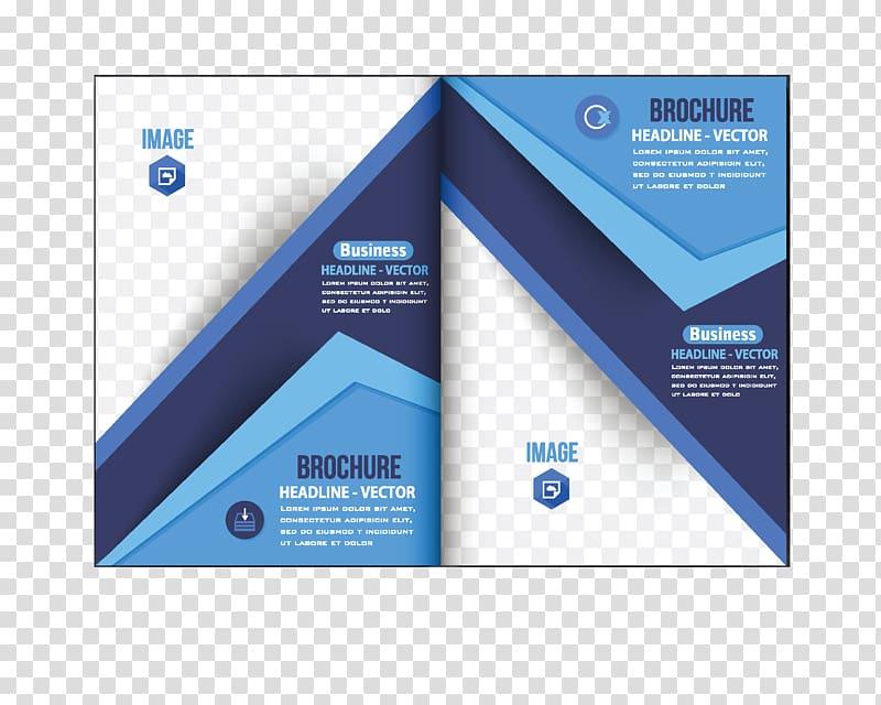 Leaflet design clipart clip art transparent stock Blue and white brochures, Flyer Brochure Graphic design, Fashion ... clip art transparent stock