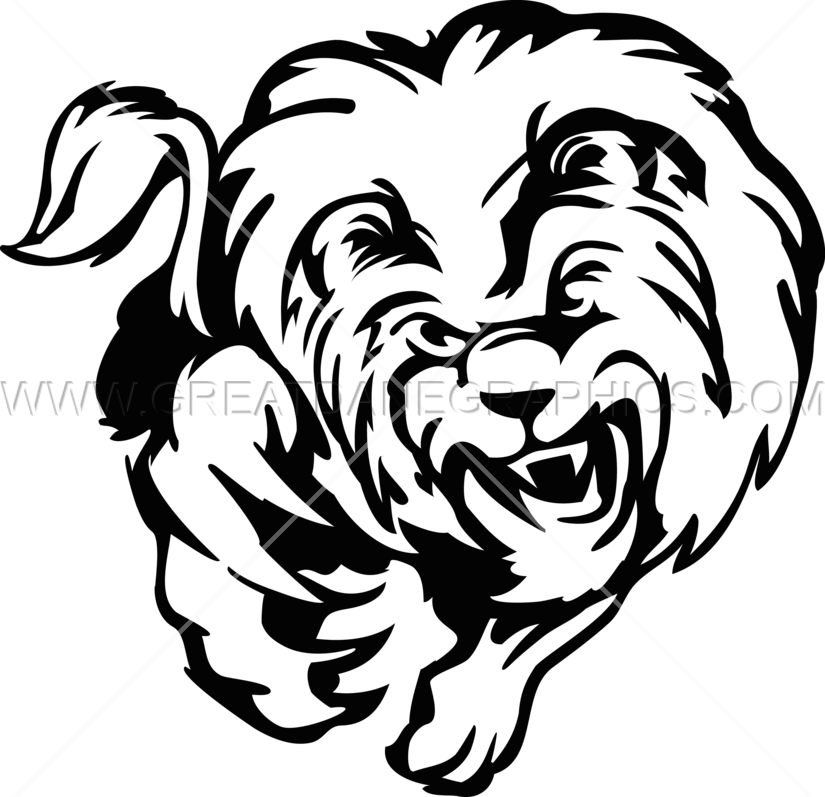 Leaping cat clipart jpg library library Leaping Lion | Production Ready Artwork for T-Shirt Printing jpg library library