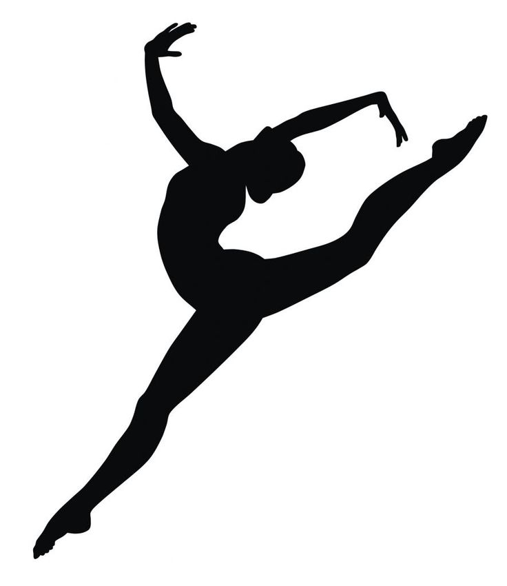 Leaping dancer clipart banner transparent Free Leaping Dancer Silhouette, Download Free Clip Art, Free Clip ... banner transparent