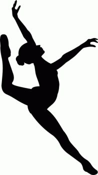 Leaping dancer clipart vector free stock Leaping Dancer Silhouette Clipart | Free download best Leaping ... vector free stock