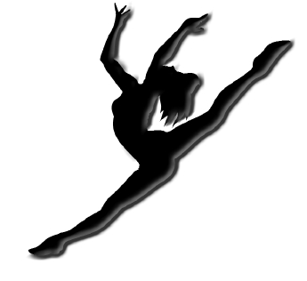 Leaping dancer clipart graphic free Free Leaping Dancer Silhouette, Download Free Clip Art, Free Clip ... graphic free