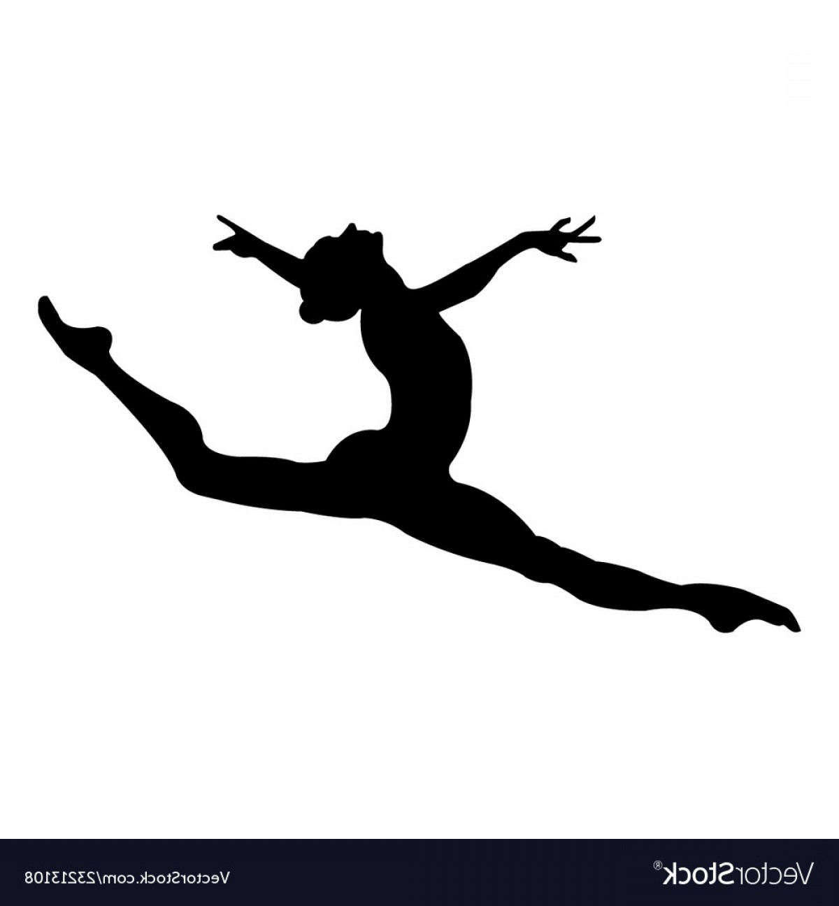 Leaping dancer clipart png transparent Leaping Ballet Dancer Silhouette Vector | SOIDERGI png transparent