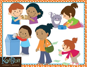Learning life skills clipart black and white kids banner royalty free Life Skills Clip Art banner royalty free