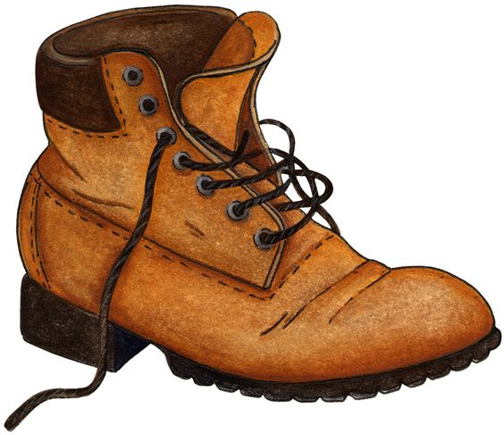 Leather boots clipart picture free Clipart Boots & Look At Clip Art Images - ClipartLook picture free