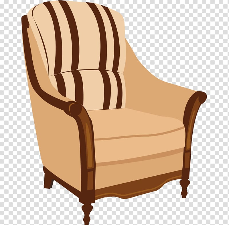 Leather chair clipart picture freeuse Table Furniture Couch Chair, Real leather chair furniture realistic ... picture freeuse