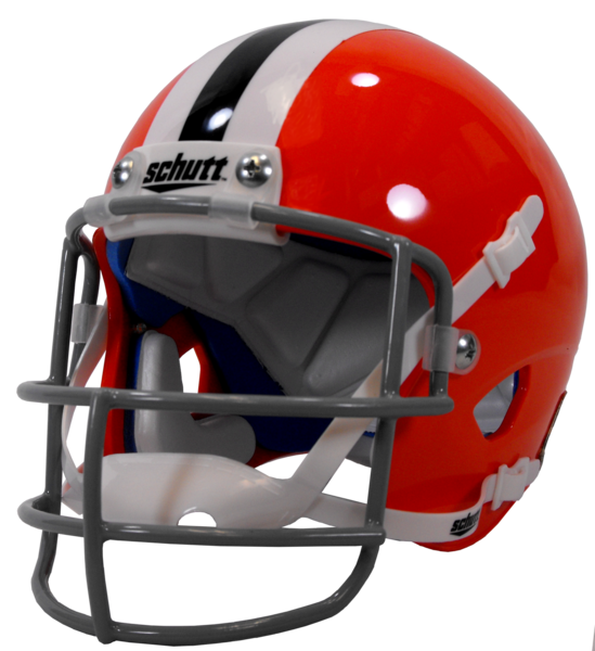 Orange football helmet clipart svg royalty free library Clemson Helmets & Footballs – clemsonframeshop svg royalty free library