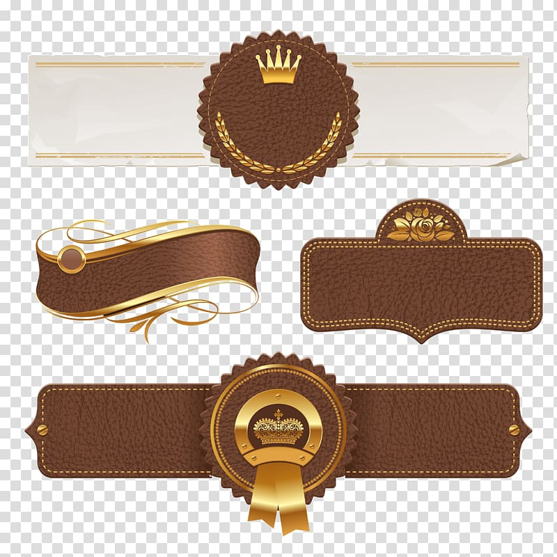 Leather logo clipart graphic stock Strap illustration, Banner , Creative Leather banner material ... graphic stock