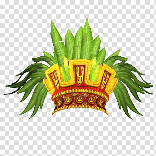 Leave crown cliparts vector download Snapchat psd, red and gold crown with green leaves illustration ... vector download