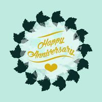 Leaves background clipart happy anniversary png library library Celebration Celebrations Wedding Weddings Marriage Typography ... png library library