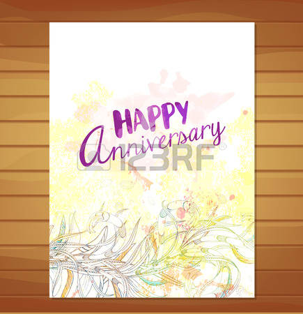 Leaves background clipart happy anniversary clip art royalty free stock 126,936 Anniversary Card Cliparts, Stock Vector And Royalty Free ... clip art royalty free stock