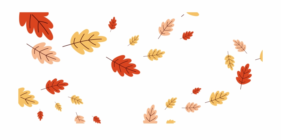 Wind blowing leaves clipart