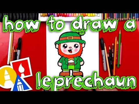 Lebercan clipart png free How To Draw A Cartoon Leprechaun - YouTube png free